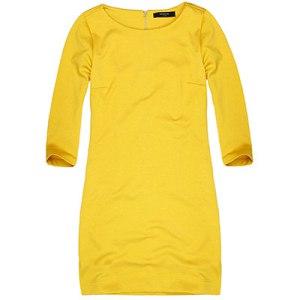 Reserved gul klänning