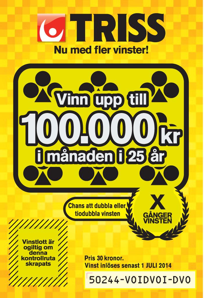 Sweden Triss 50244