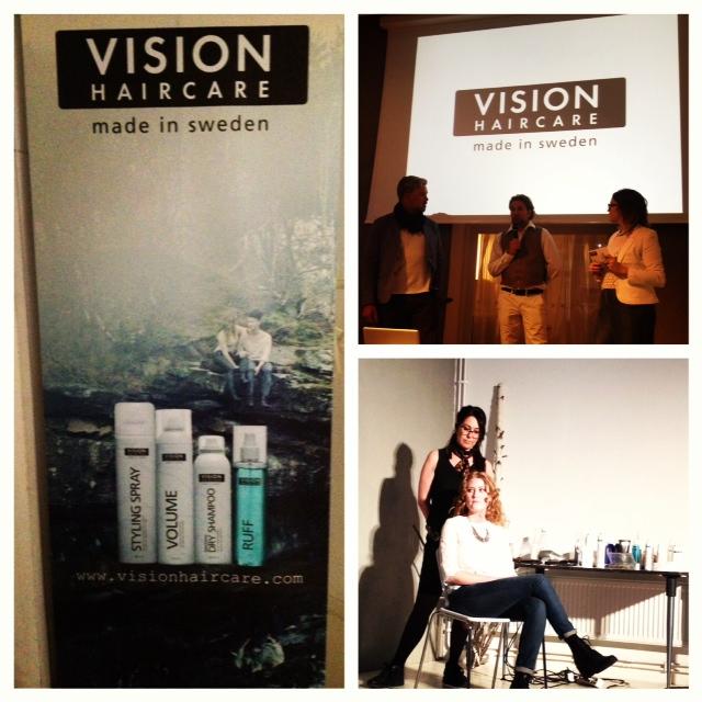 Vision Haircare pressmöte