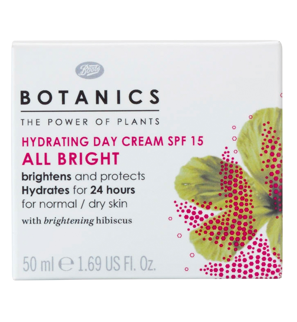 Botanics All Bright Hydrating Day Cream SPF15 89kr-1