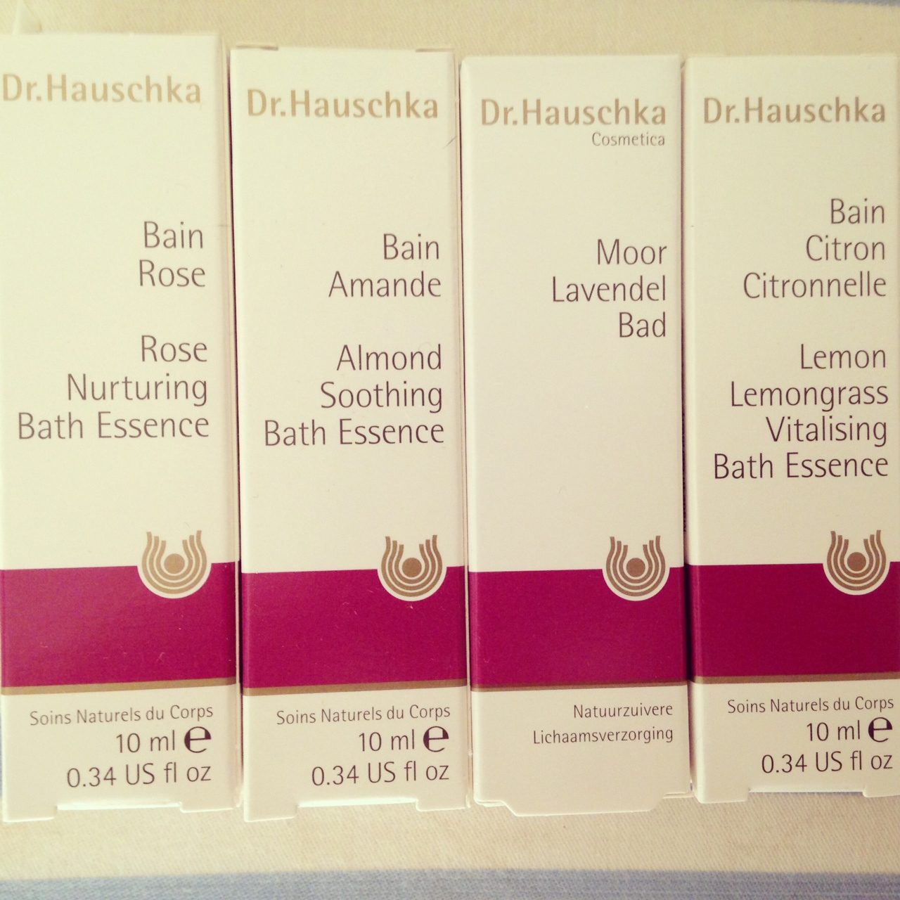 Dr Hauschka badolja skönhetsblogg elinfagerberg.se