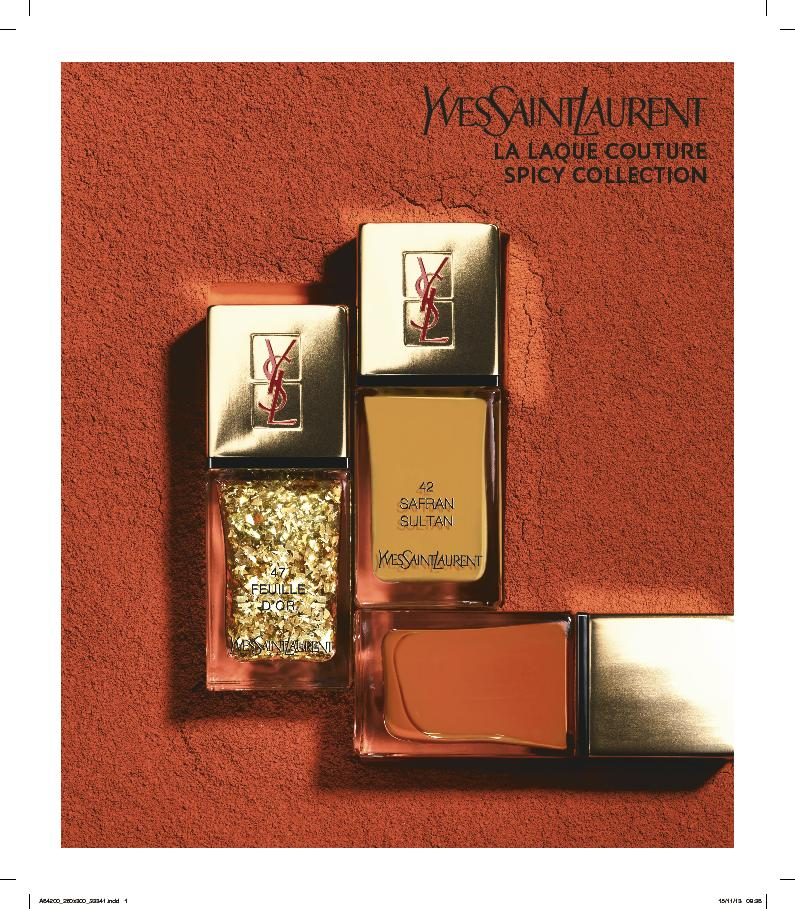 Yves Saint Laurent Spicy Collection elinfagerberg.se