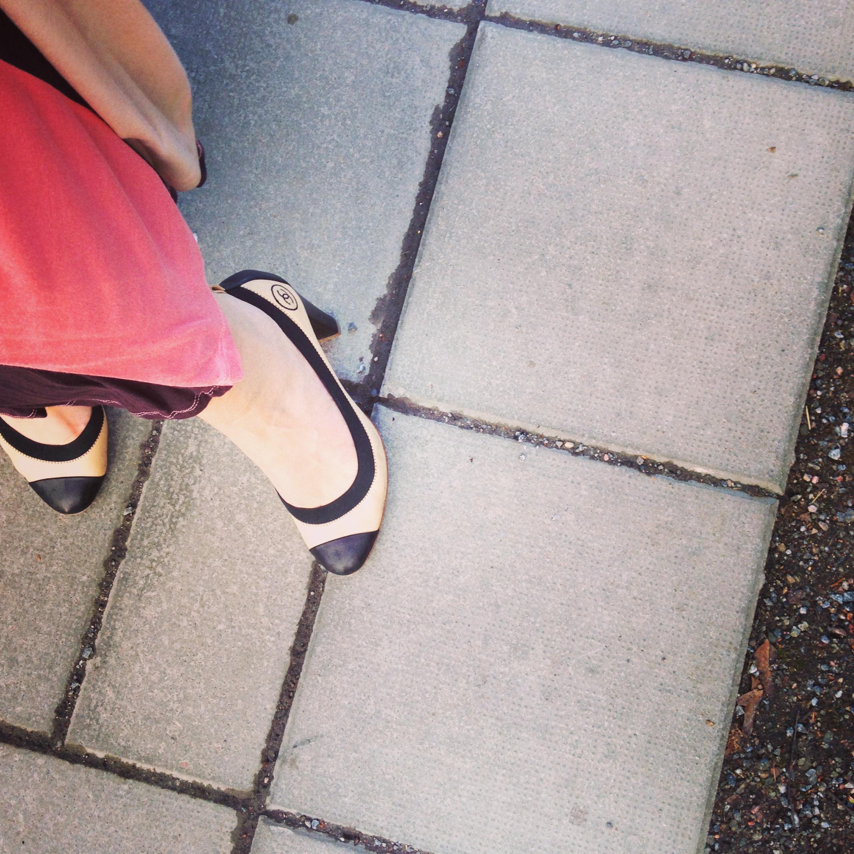 Elin Fagerberg skor från Gucci