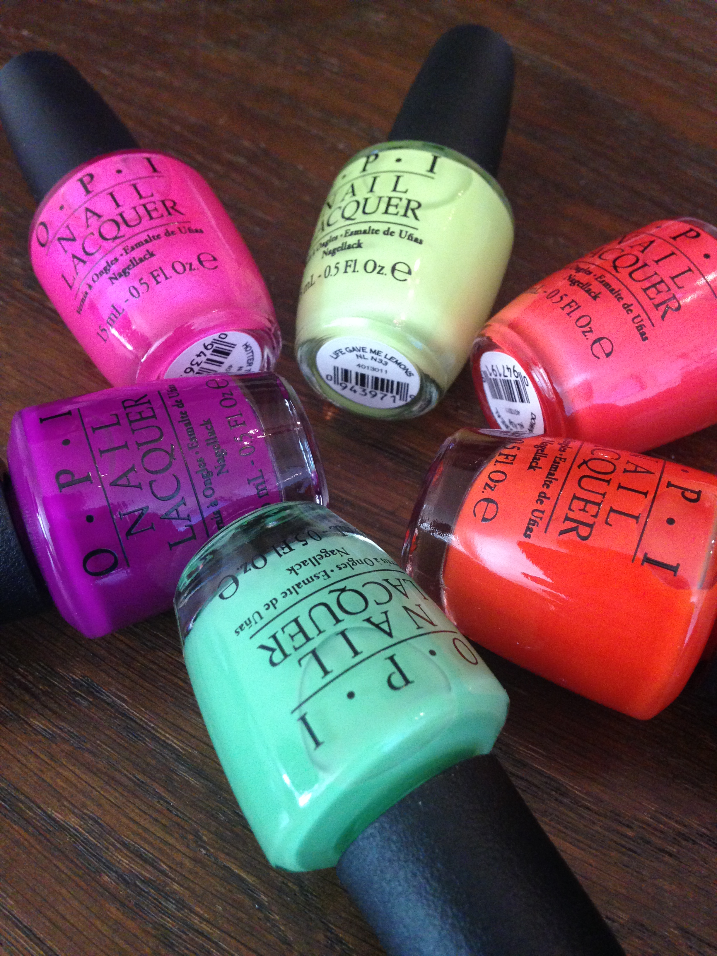 OPI Neon Collection Elinfagerberg.se