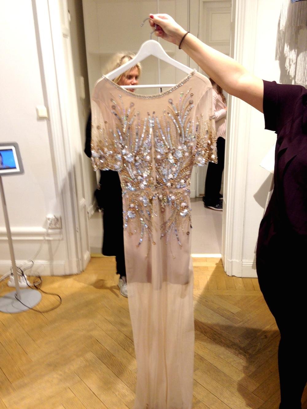 Asos vacker klänning