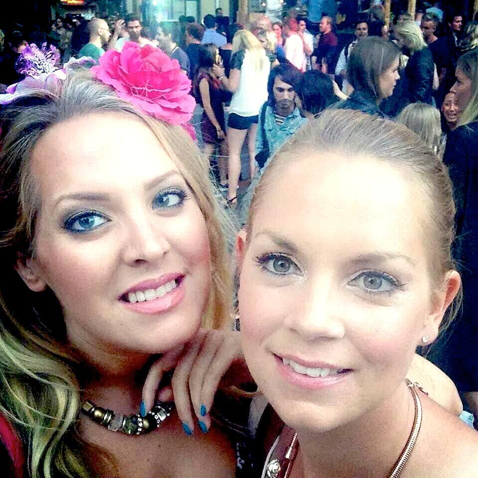 Elin Fagerberg och Cecilia Liljedahl