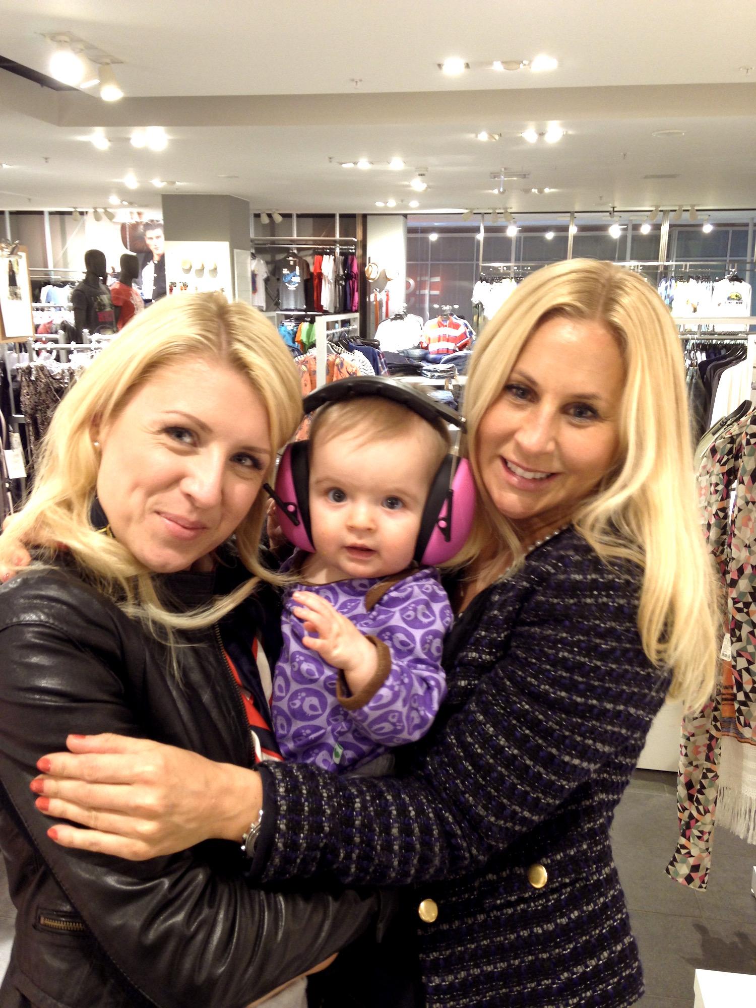 Lina, Lilla M och Linda