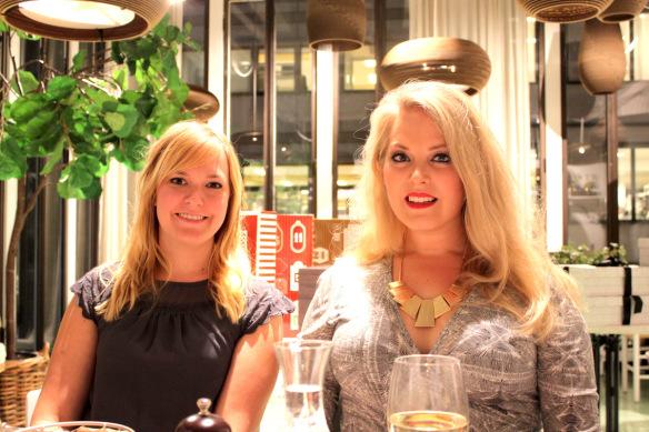 TBSmiddag Elin Fagerberg och Emma