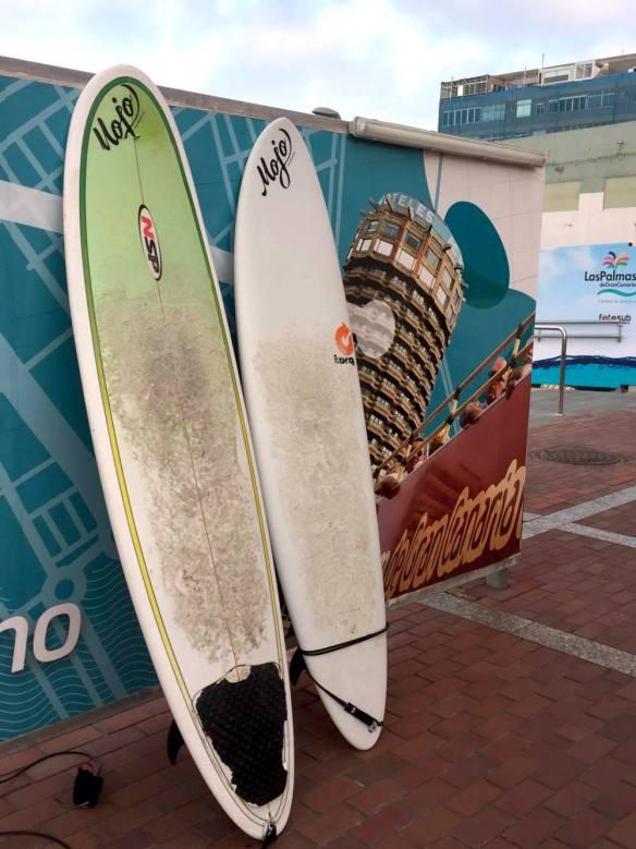 Las Palmas surfbrädor elinfagerberg.se