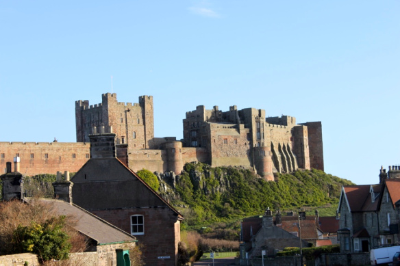 Bamburgh Castle Northumberland elinfagerberg.se
