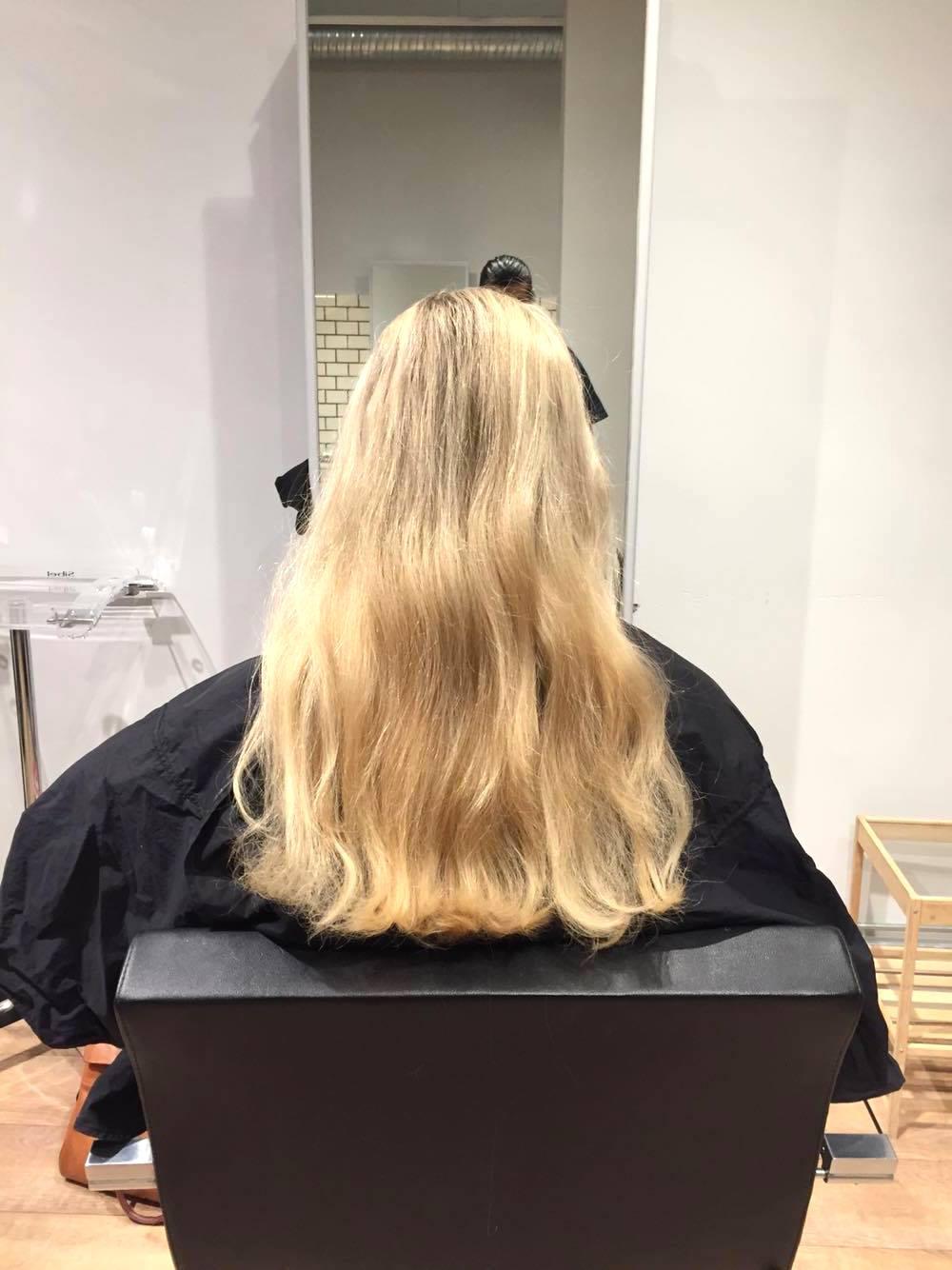 Beige blond före elinfagerberg