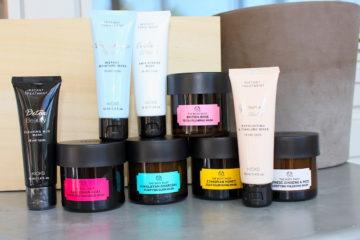 Ansiktsmasker Kicks och The Body Shop