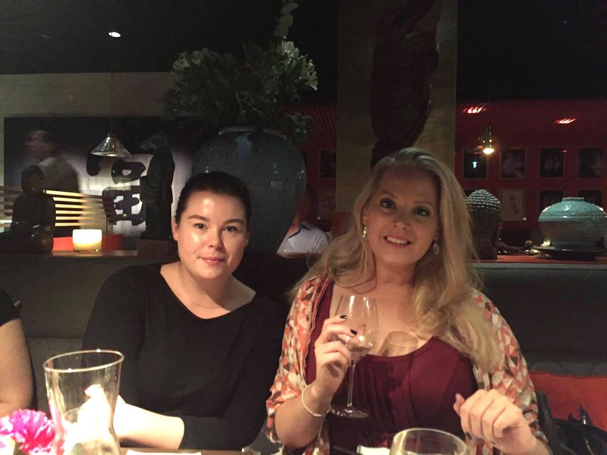 Karin Lind och Elin Fagerberg på Miss Voon