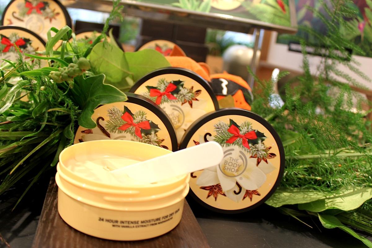 The Body Shops julprodukter Vanilla Chai elinfagerberg.se