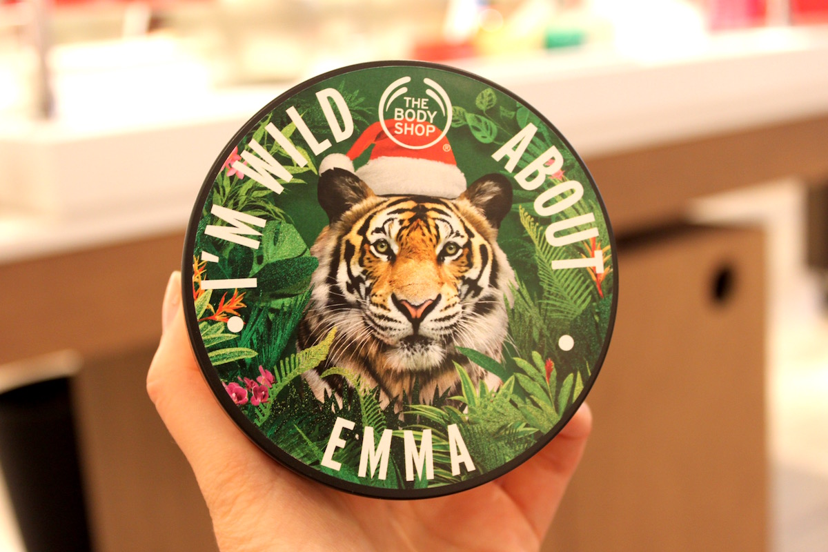 The Body Shop body butter egen design elinfagerberg.se