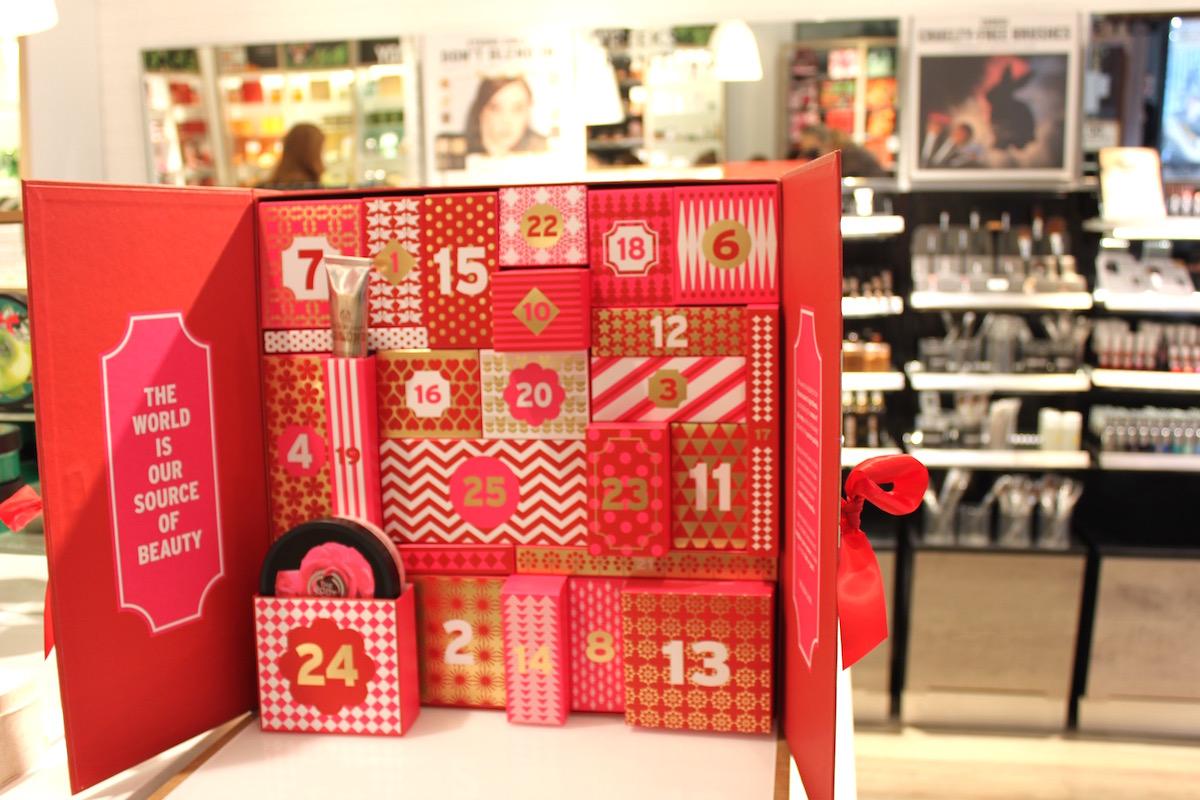 The Body Shops adventskalender elinfagerberg.se