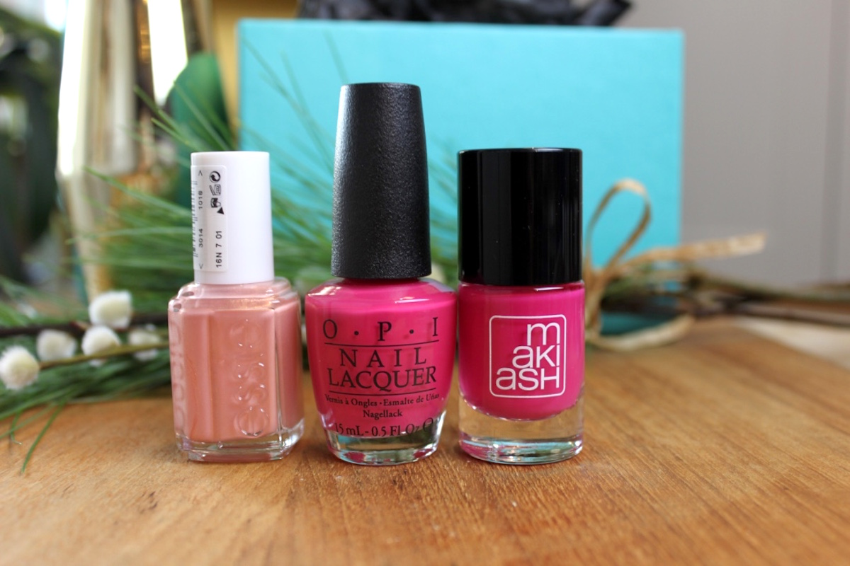 rosa-nagellack-fran-essie-opi-och-makiash
