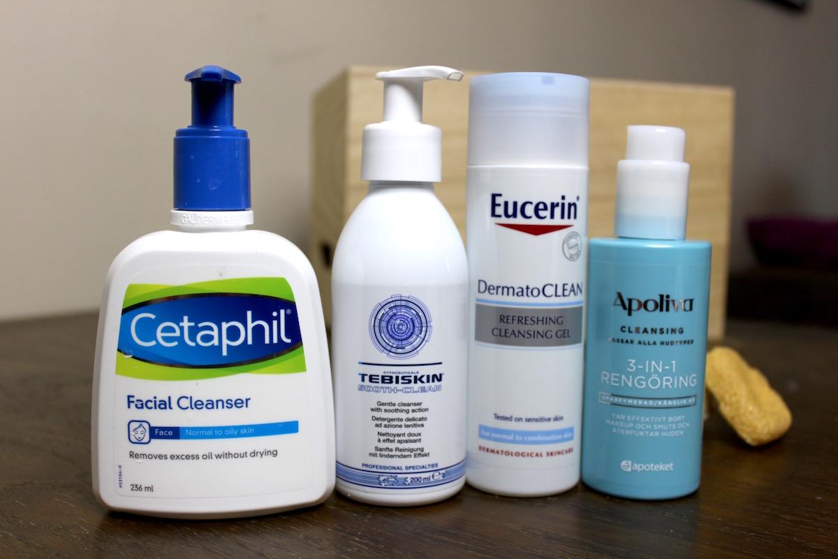 Ansiktstvätt med konsistens av gelé