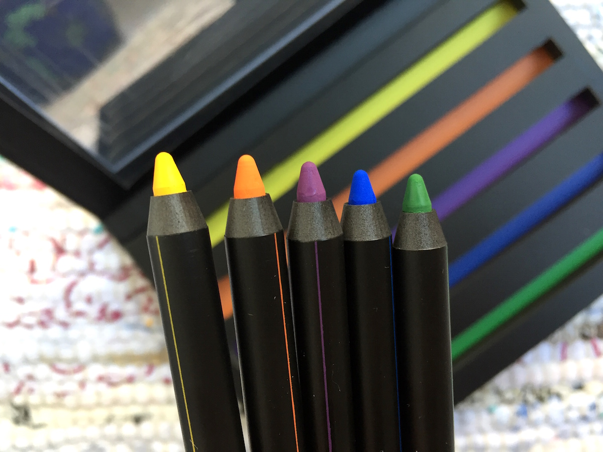 LH Cosmetics Mood Crayons Elinfagerberg.se