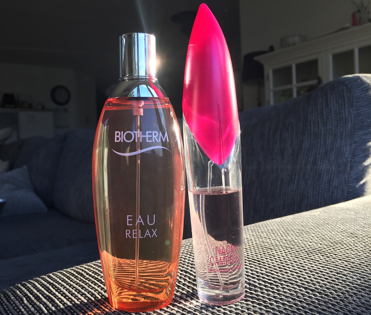 Biotherm och naomi campbell med jasmin och exotiska frukter