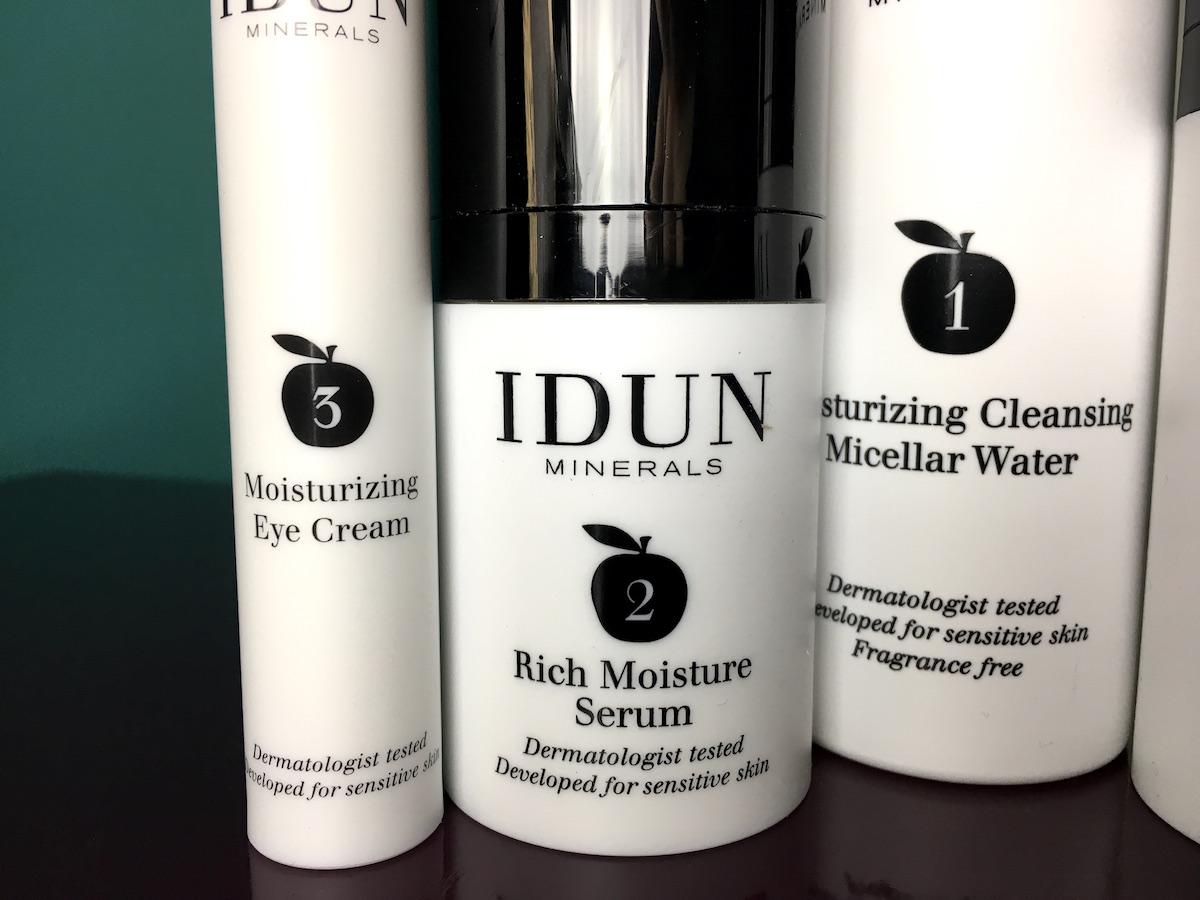 Idun lanserar hudvård med siffror för att underlätta hudvårdsrutinen