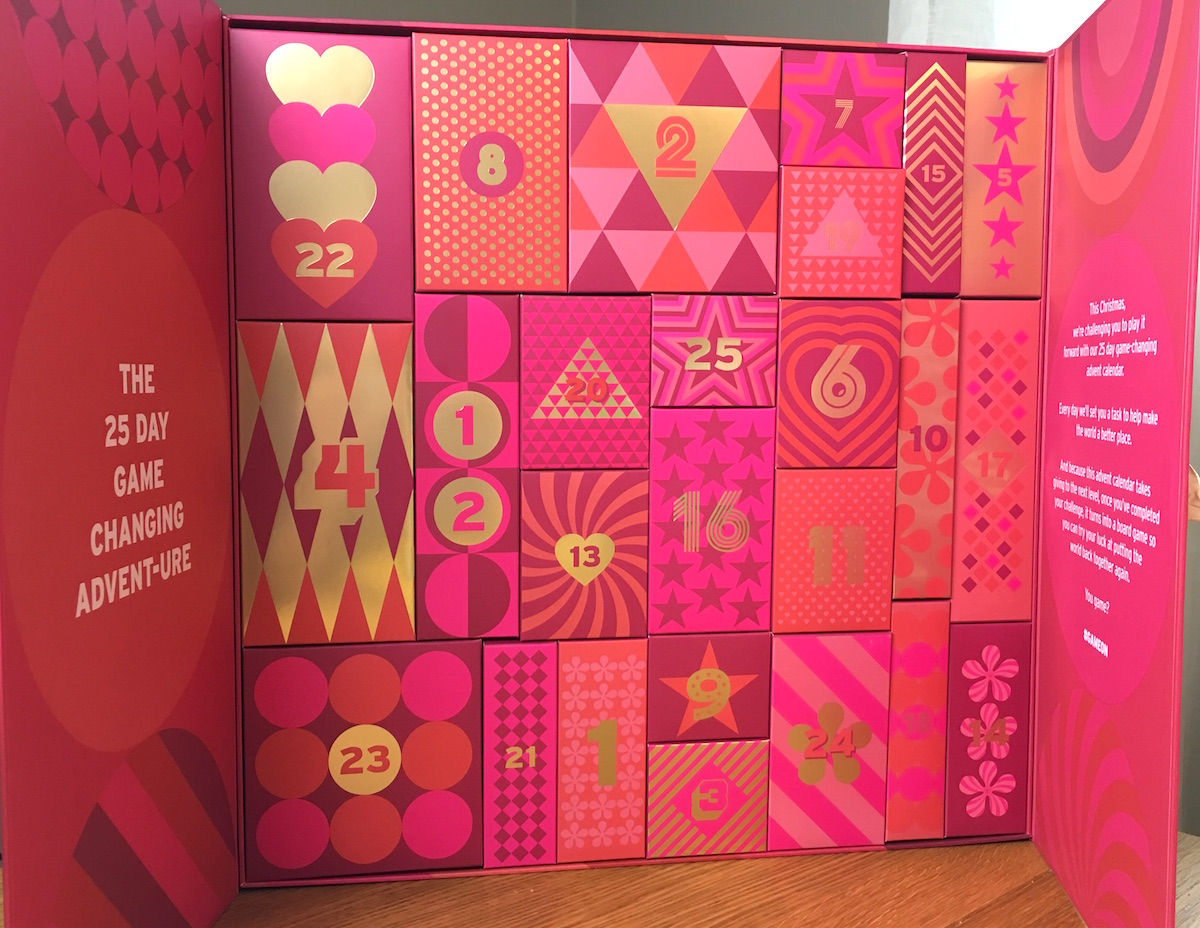 The Body Shop Adventskalender med 25 luckor