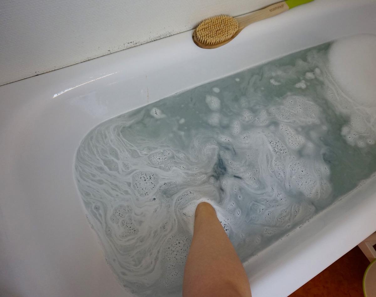 spa hemma i badkaret
