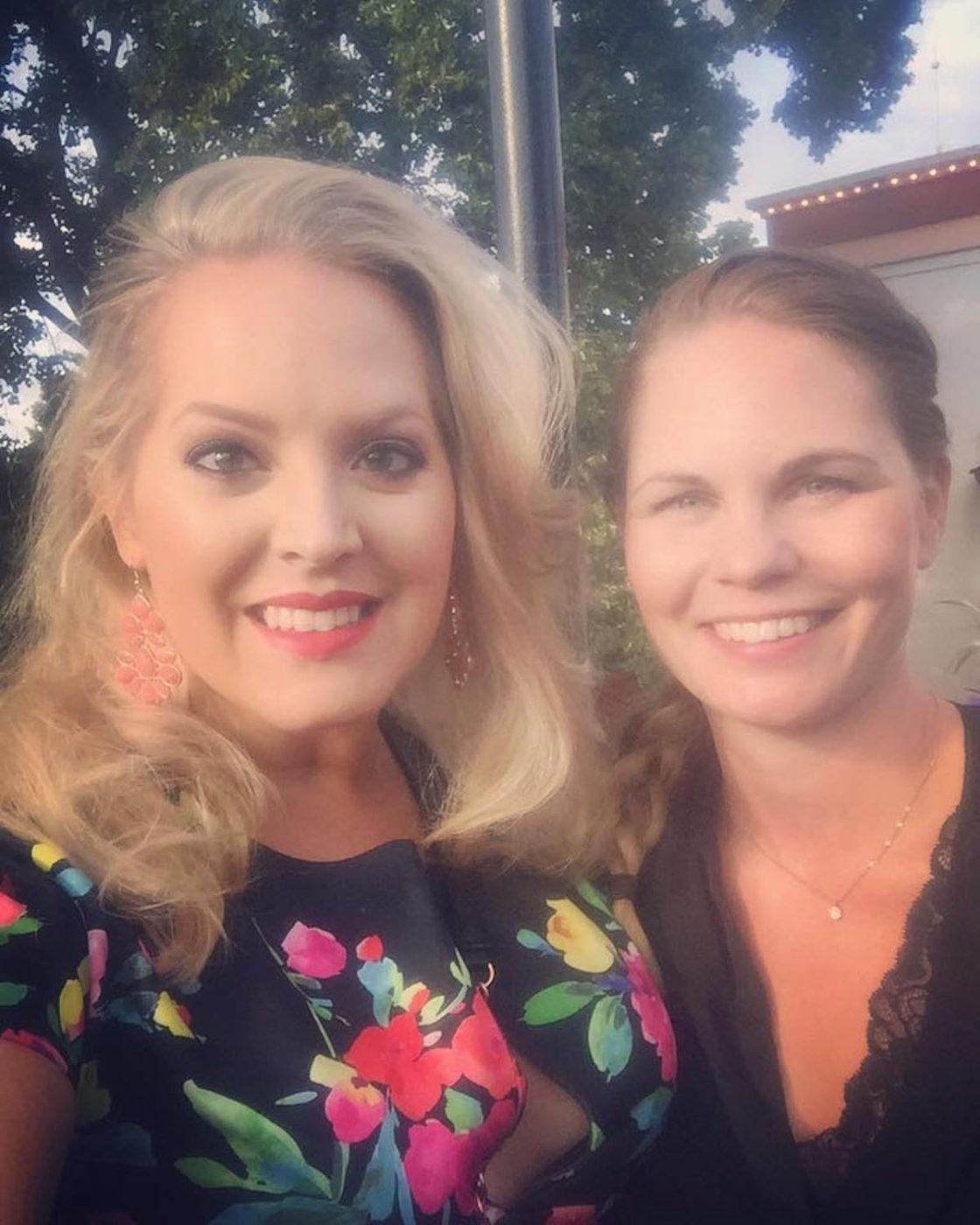 Jag och min vän Johannas som är hälsocoach