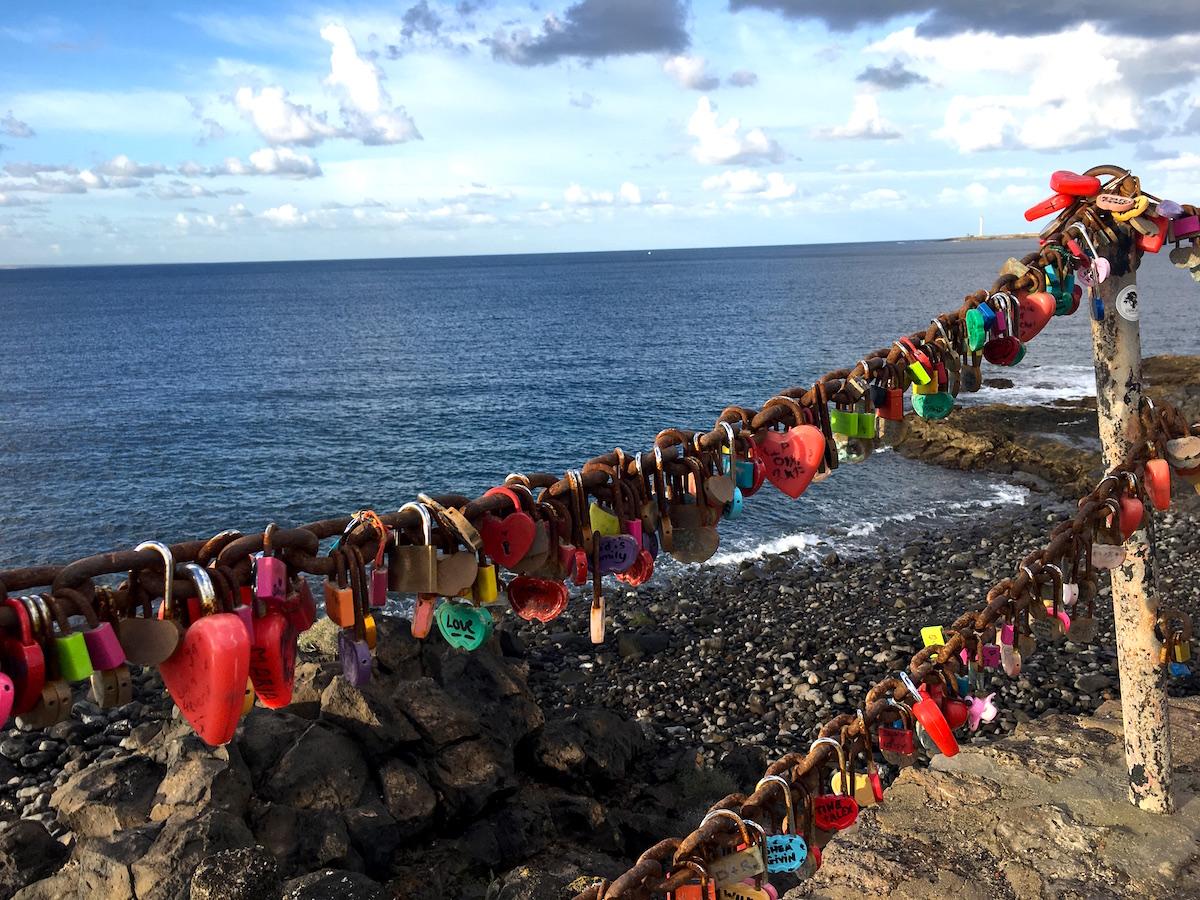 romantiskt vid playa blanca