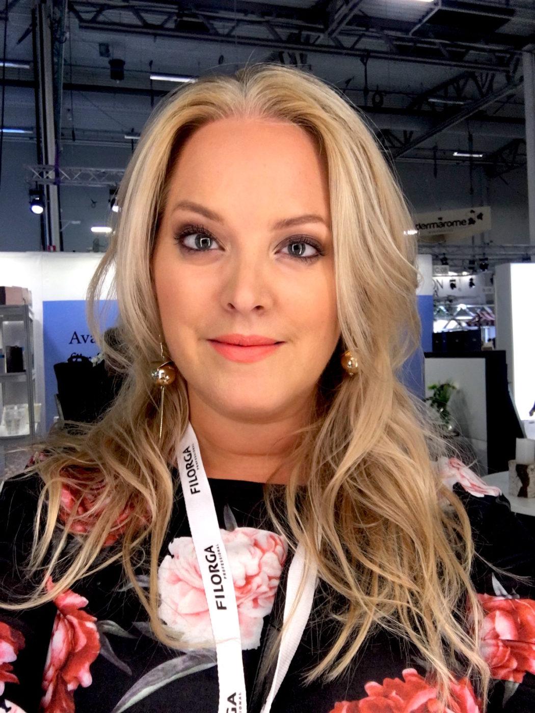 Elin Fagerberg på Hud och Kosmetik