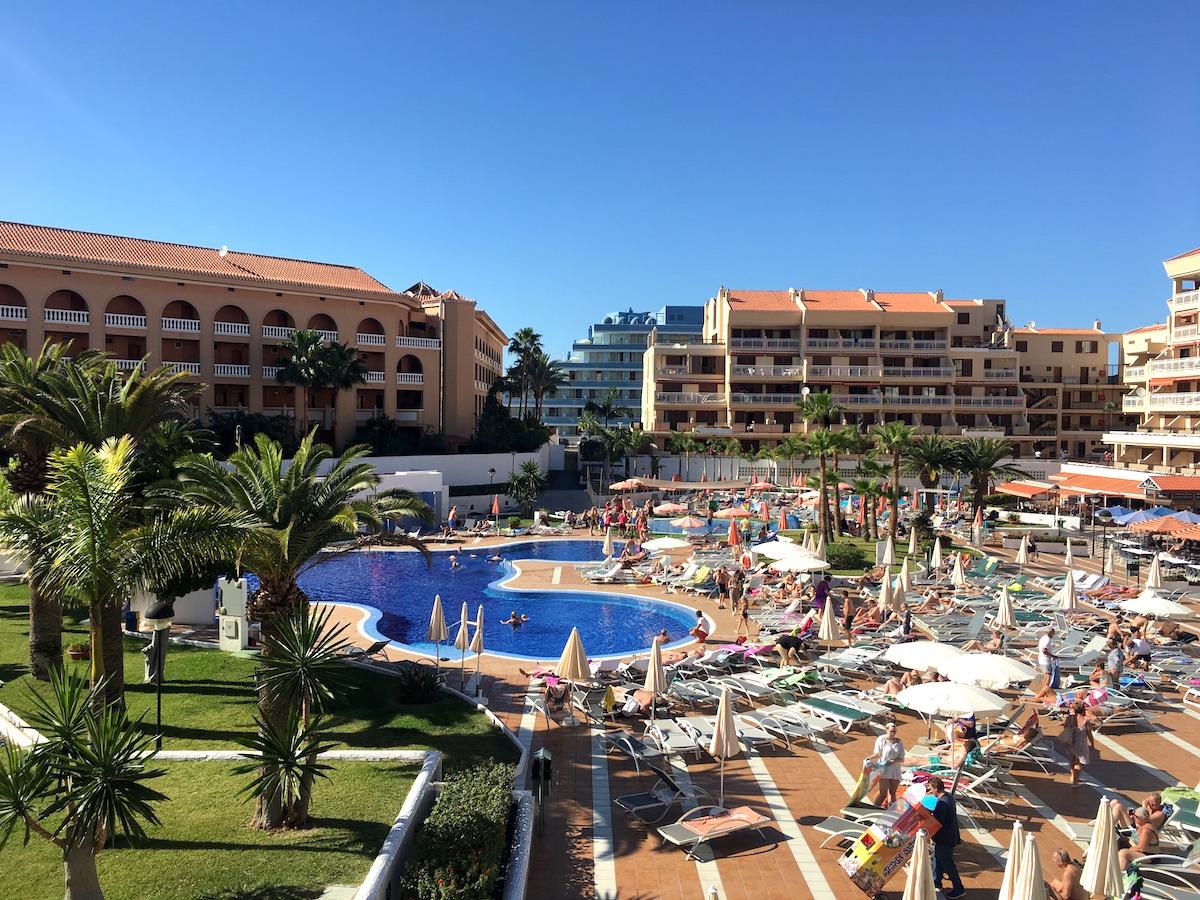 Hotellet Compostela Beach i Playa De Las Americas