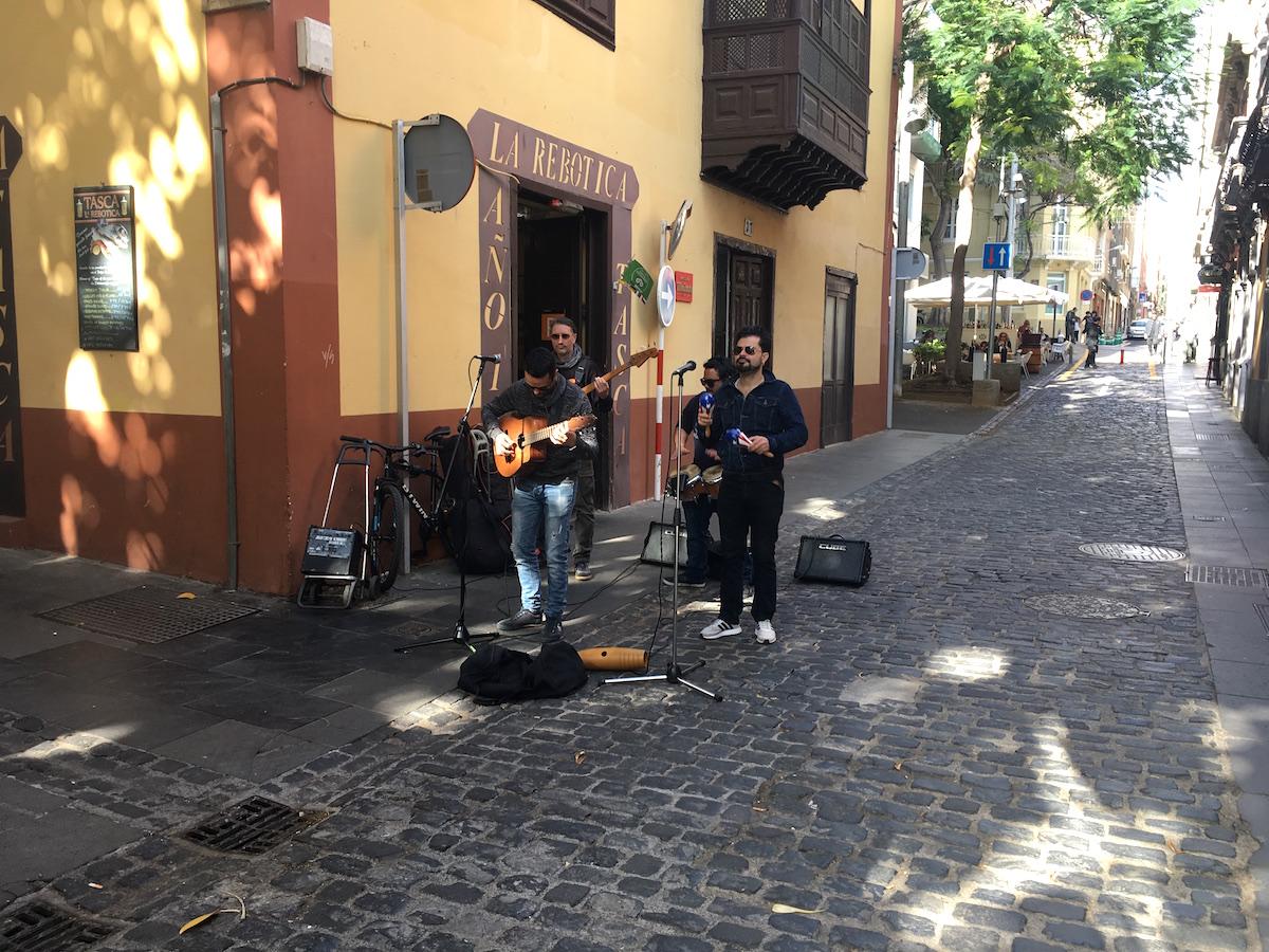 Härlig livemusik i Santa Cruz