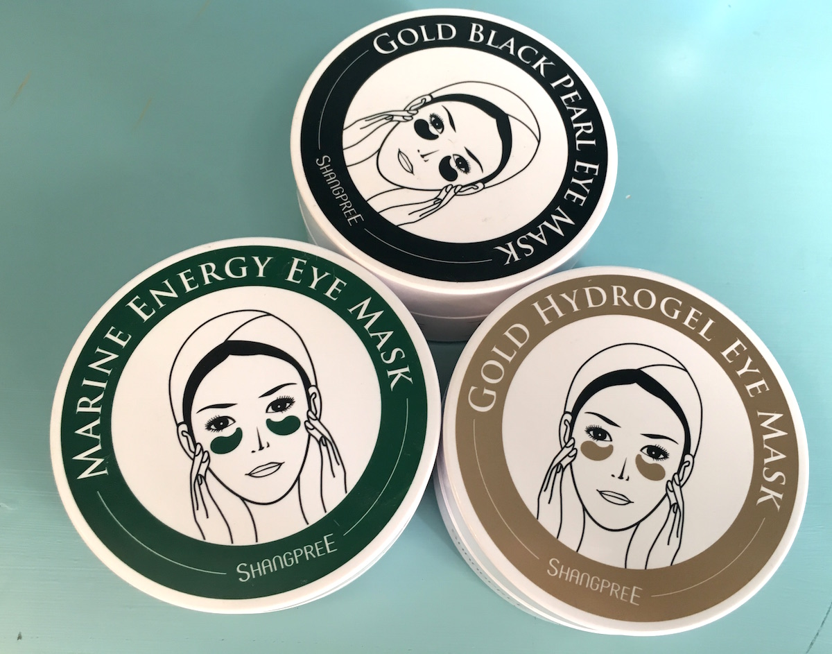 Ögonmasker som säljs på Bonnybonny