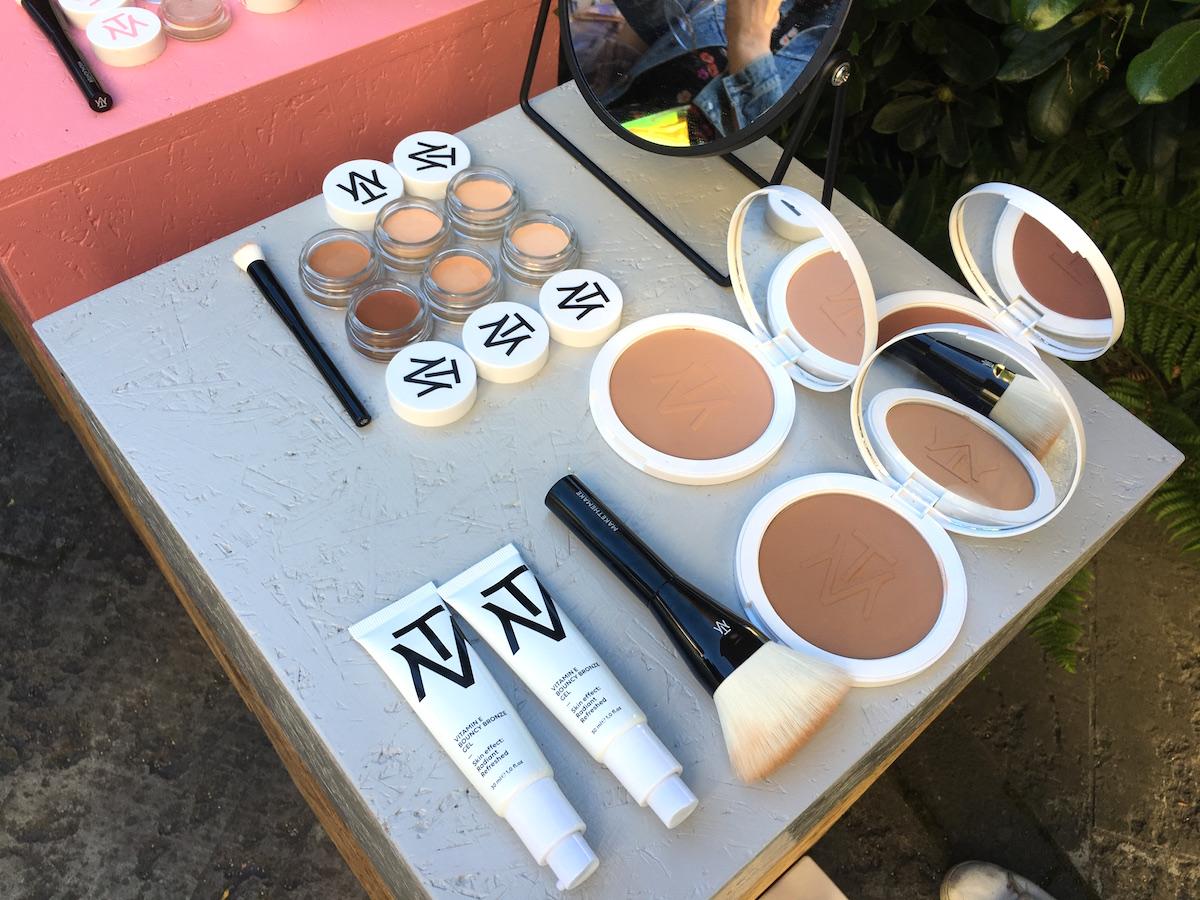 Makethemake concealer och bronzpuder