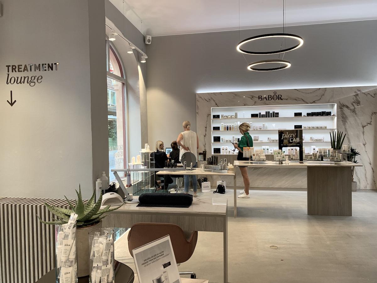 Babor har öppnat butik och salong på Östermalm