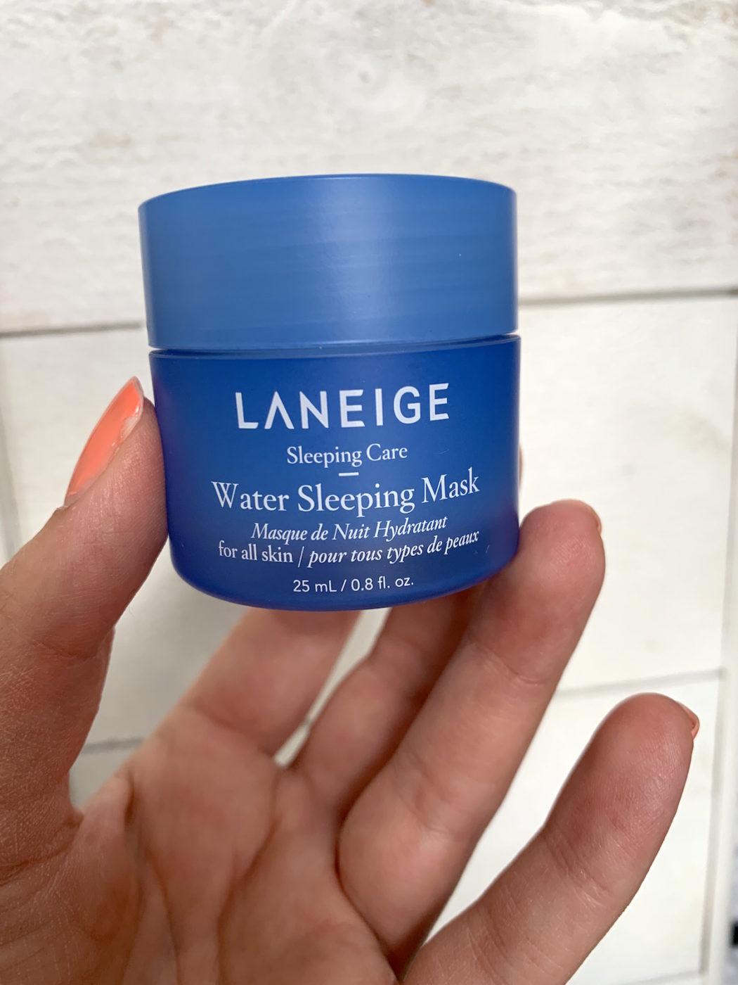 Water Sleeping Mask är en av alla nattmasker som har blivit hyllade.