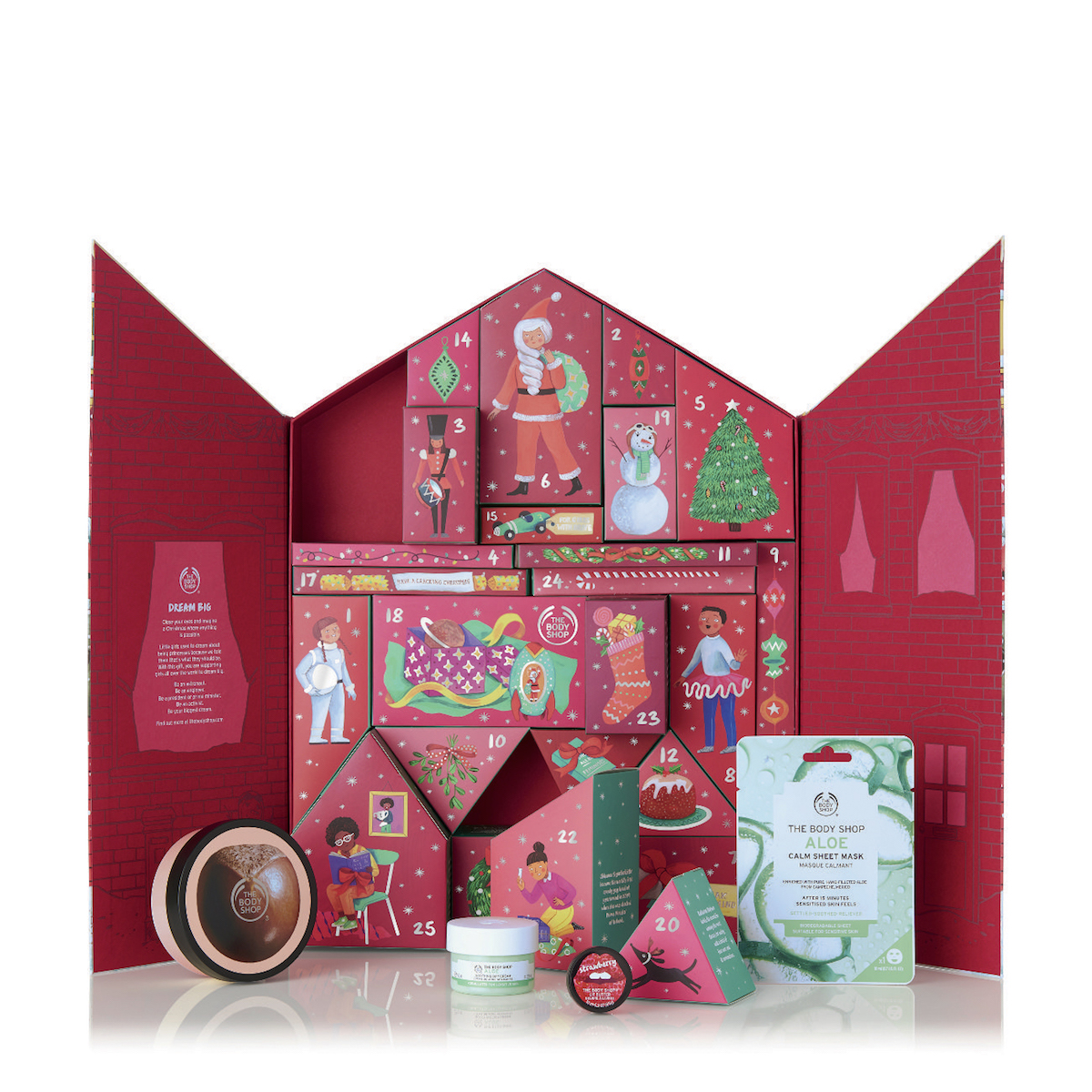 Adventskalender från The Body Shop