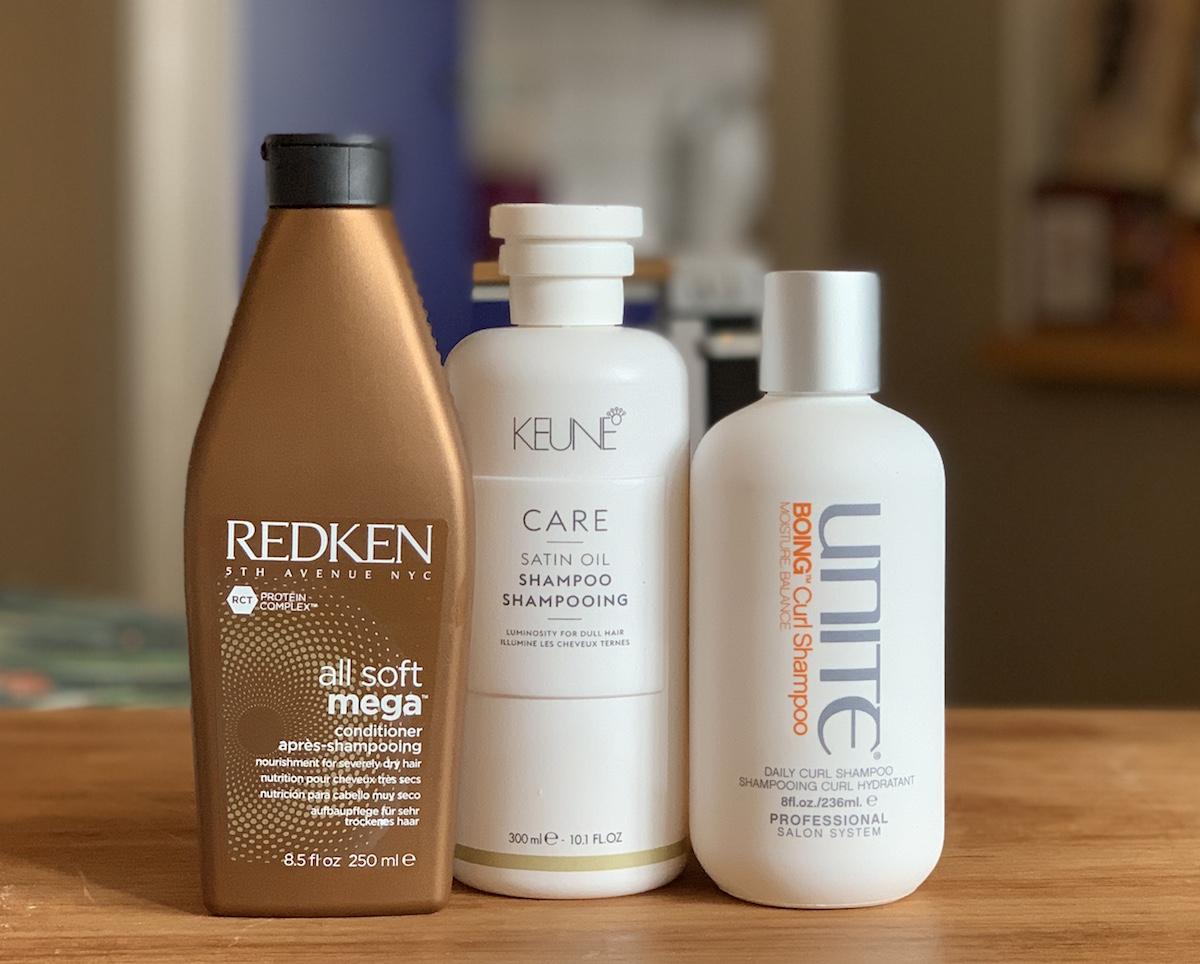 bra schampo för torrt hår