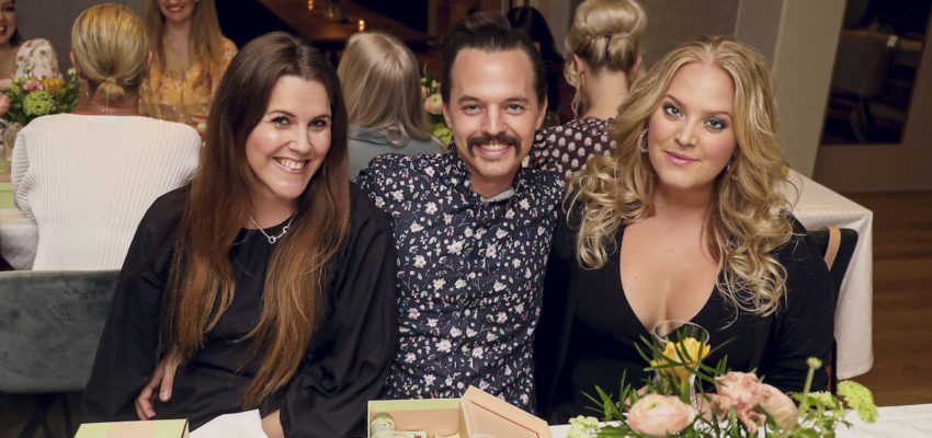 Elin Fagerberg på middag med Pixi Beauty
