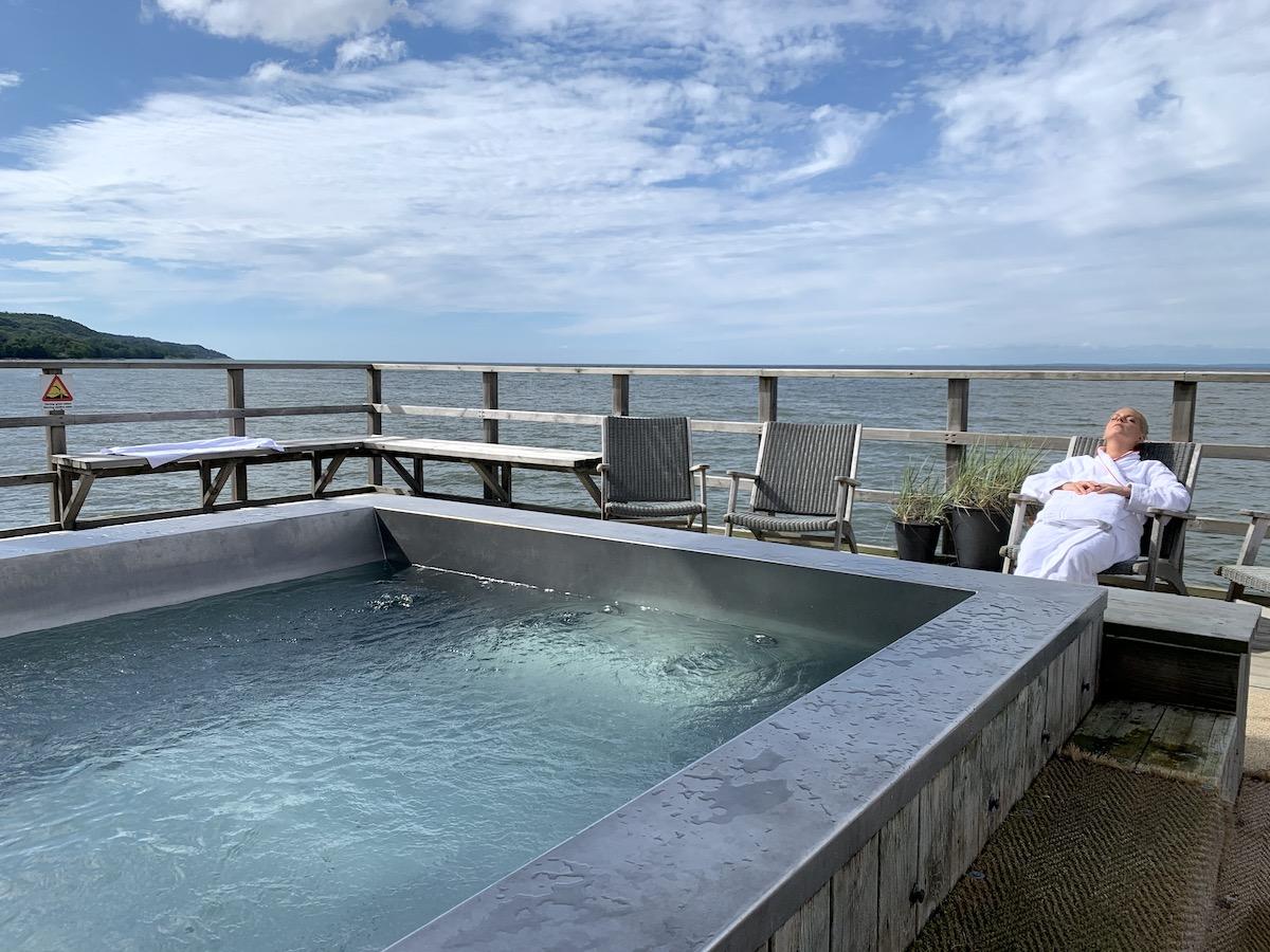 kallbadhuset på hotel skansen