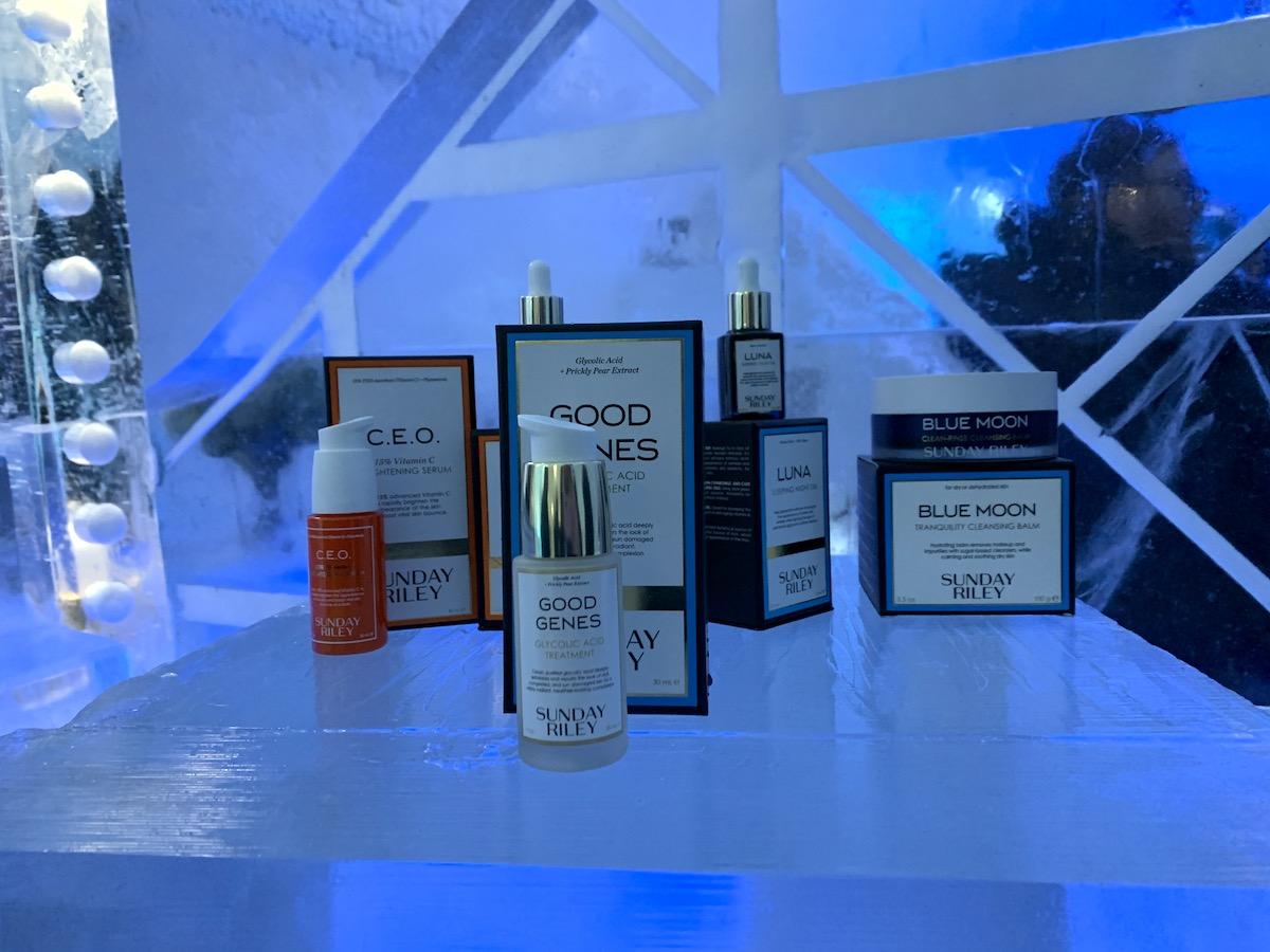Flera storsäljande produkter som står på is