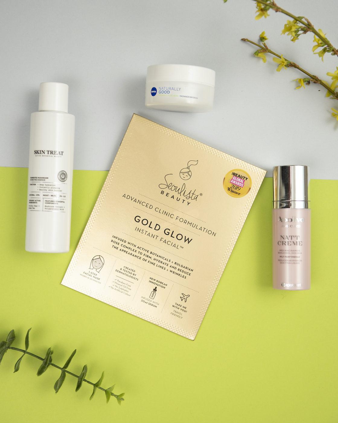 Produkterna i Årest Ansiktshudvård i Swedish Beauty Awards