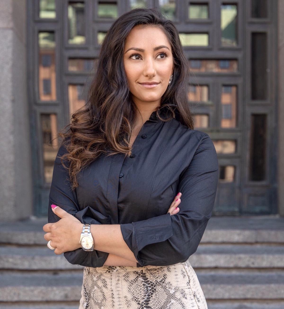 Entreprenören Jasmine Lundqvist bakom baseofsweden